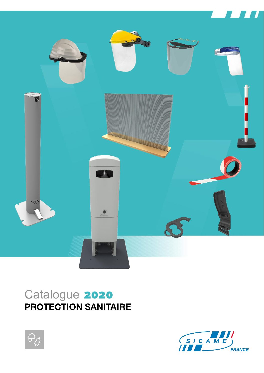 Catalogue protection sanitaire SICAME