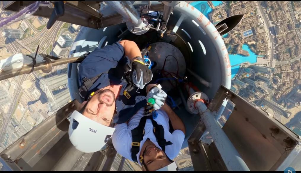 vidéo Burj Dubai  –