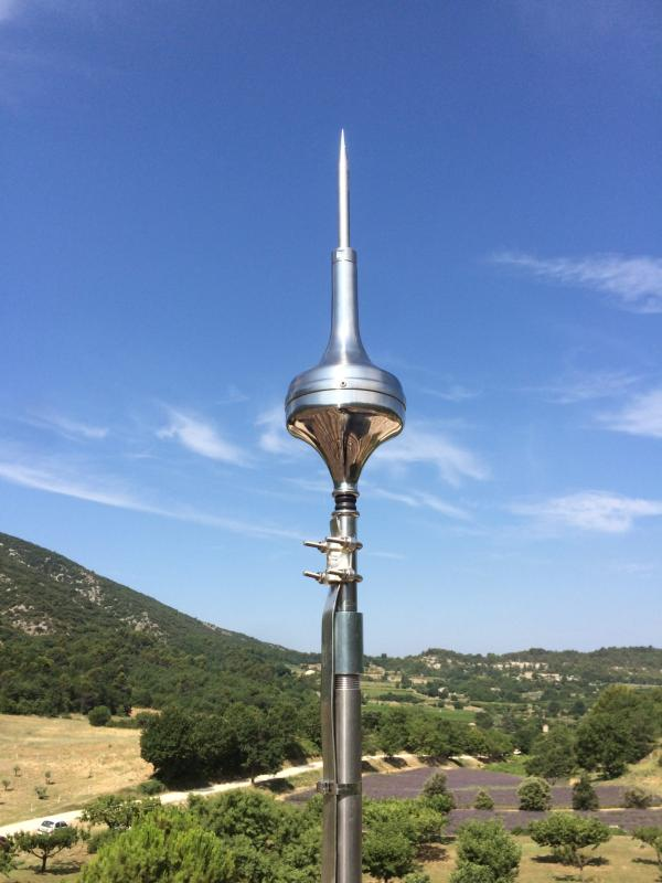 Test paratonnerre G2